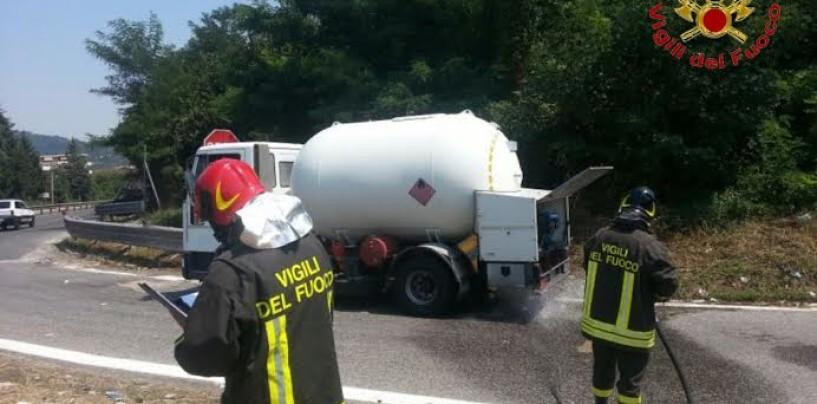Perdita di gas ad Atripalda, intervengono i Vigili del Fuoco